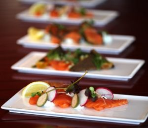 Qatar Airways: Locally-smoked salmon for First and Business Class passengers
