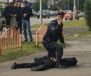 7 wounded in knife rampage in Russia, ISIS claims responsibility, attacker shot by police