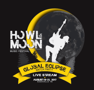 Nashville's 'Howl at the Moon' Music Festival coincides with solar eclipse