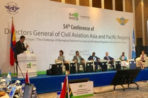 FAA Administrator speaks at Asia-Pacific civil aviation conference in Mongolia