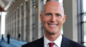 Florida Governor honored for commitment to travel and tourism