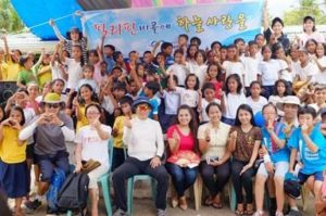 Korean Air continues to help rebuild in the Philippines