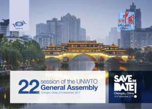 China to host 22nd UNWTO General Assembly