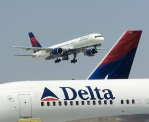 Delta Air Lines reports operating performance for August 2017