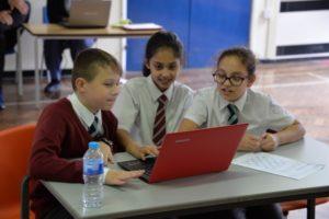 Students learn about Heathrow's hidden world of cargo