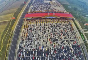 Tourism Chinese Style: Half a billion road trips in one week