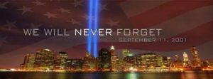 9/11: We will never forget
