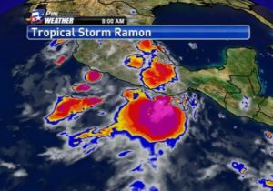 National Hurricane Center: Tropical Storm Ramon forming off Mexico's coast
