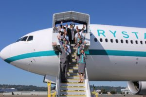 Crystal AirCruises announces new itineraries for New Year's Eve countdown and Chinese New Year