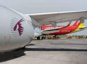 Qatar Airways enters interline partnership with Vietjet