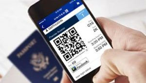 United offers boarding passes for partner airlines via its mobile app