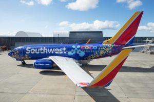 "Southwest Airlines unveils ""Coco""-themed Boeing 737-700"