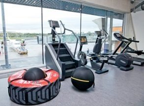 First airport terminal gym in Europe opens at Estonia's Tallinn Airport