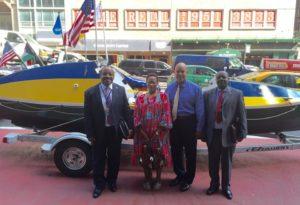 Historic transatlantic rowboat heads to Equatorial Guinea museum