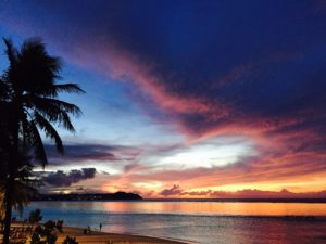 Who is going to Guam and why?