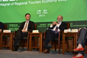 IIPT President featured speaker at Pu'er Green Forum on Tourism and Ecology