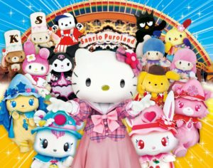 "Unique Christmas and New Year events at ""Hello Kitty Land Tokyo"""