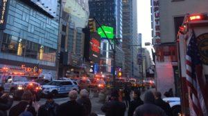 Manhattan subway station bombing injures 3, suspect in custody