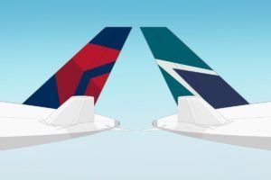 Delta and WestJet agree to form joint venture