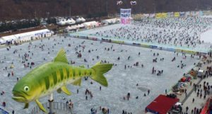 South Korean town set to open annual ice-fishing festival on January 6