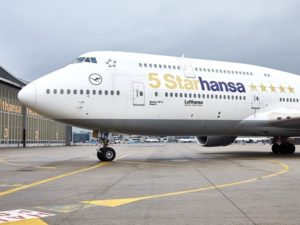 Lufthansa: New sparkling ambassadors in the global skies