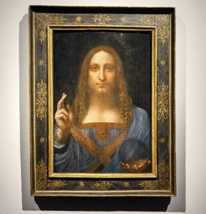Da Vinci's Salvator Mundi was acquired by Department of Culture and Tourism Abu Dhabi