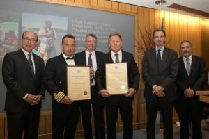 Exceptional Bravery at Sea: Crystal Cruises gets award