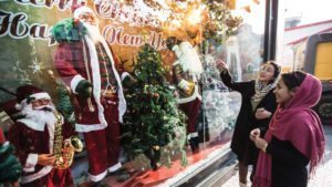How we celebrates Christmas in Iran?