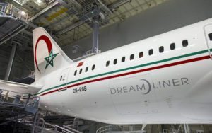 Royal Air Maroc Orders for Four Boeing 787 Dreamliners
