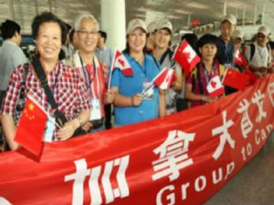 Chinese travelers come in at No. 2 for contributing to Canada's tourism dollars