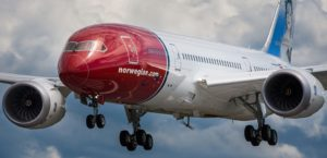 Norwegian Air low-cost Transatlantic escalation