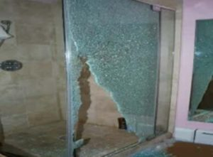 Guest at Four Seasons Hotel injured by shattering glass bathroom door