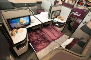 Qatar Airways invites US travelers to experience Qsuite without boarding aircraft