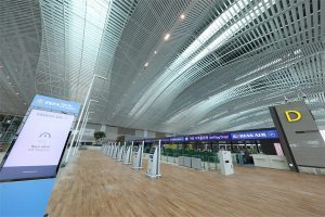 Korean Air relocated to Incheon Airport Terminal 2