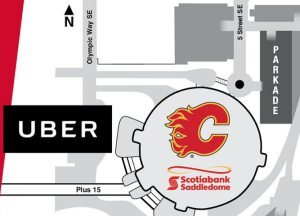 Calgary Flames join forces with Uber