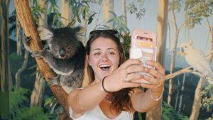 Koala Selfie at Mauru Phillip Island