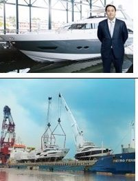 Arrival of region's biggest shipment of private yachts in Thailand