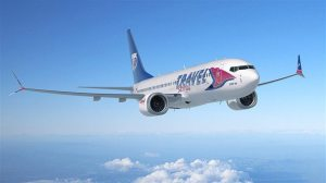 Boeing, GECAS, Travel Service celebrate first 737 MAX delivery