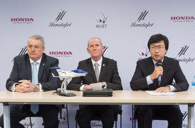 Air Taxi Service Provider Wijet Commits To Upgrading Business Jet Fleet With The HondaJet