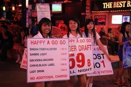 Sex training for Thai Girls: A tourism occupation under attack