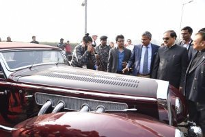 Tourist favorite: 21 Gun Salute International Vintage Car Rally in India