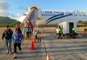 Cook Islands visitors arrival soared to an all-time high