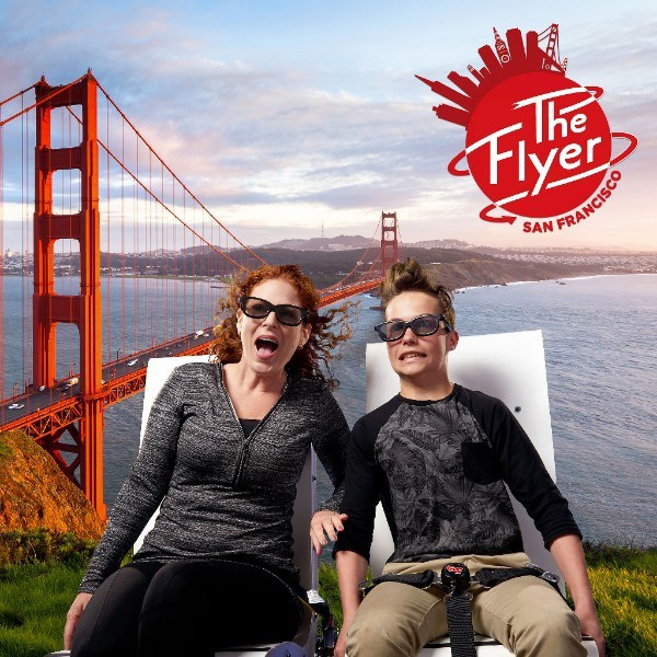 The Flyer– San Francisco takes flight at PIER 39 this summer