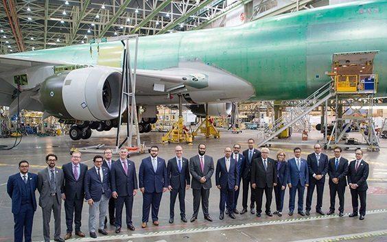 Boeing and Saudi Arabian Military Industries form joint venture partnership
