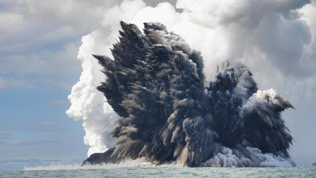 She's gonna blow! Grenada imposes 5km exclusion zone around volatile volcano