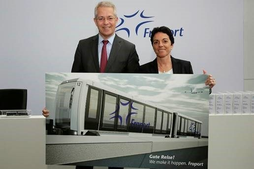 Fraport awards contract for construction of new people-mover system connecting Terminals 1 and 2 with future Terminal 3