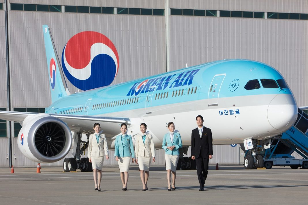 Korean Air boosting frequency on key long-haul routes in Summer 2018