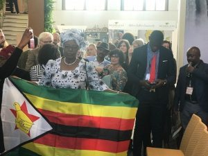 Zimbabwe tourism minister and CEO full of hate but open for business