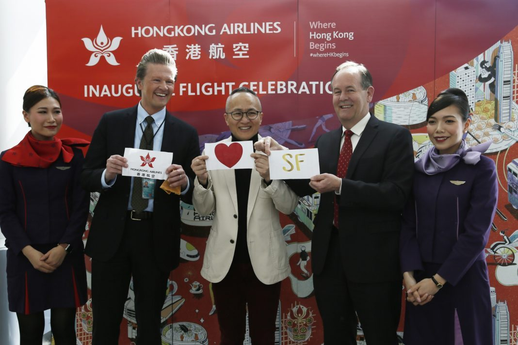 March 25 proclaimed the Hong Kong Airlines Day in San Francisco