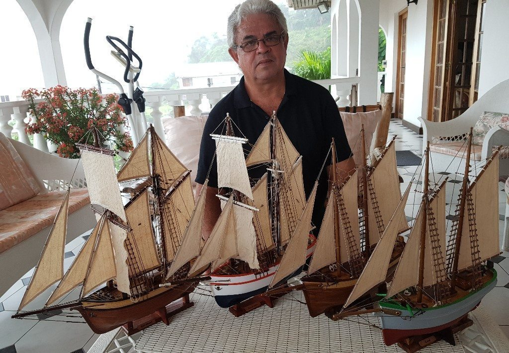 Seychellois Schooners – locally crafted treasures on the market